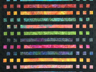 Sally Krebs Morse Code Quilt