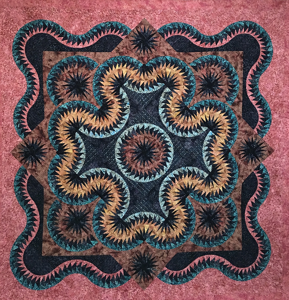 Pam O'Kane's Celtic Sunrise Quilt by Judy Neimeyer