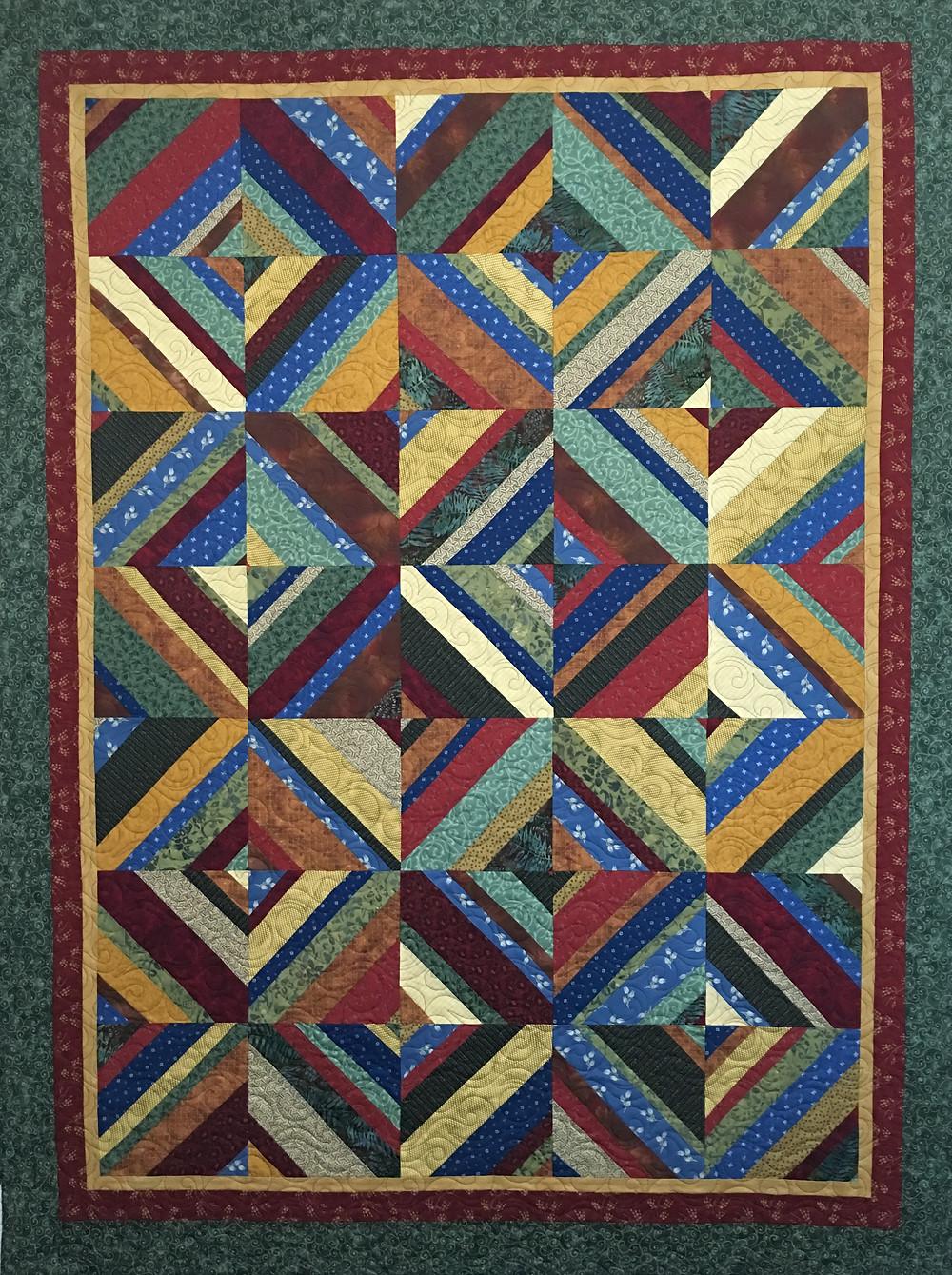 Multi Color Blocks by Andi Hays