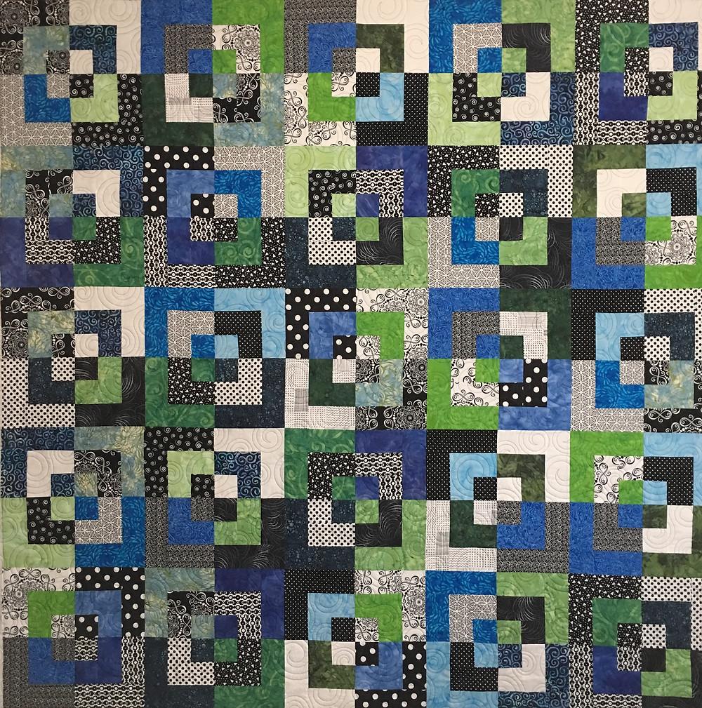 Bento Box Quilt by Nancy Nesbaum
