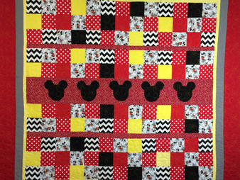 Wendy Bell Minnie Mouse Quilt