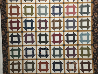 Penny Gregory Churn Dash Quilt