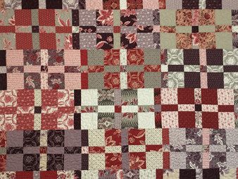 Cheryl Cohorn Layer Cake Crumble Quilt