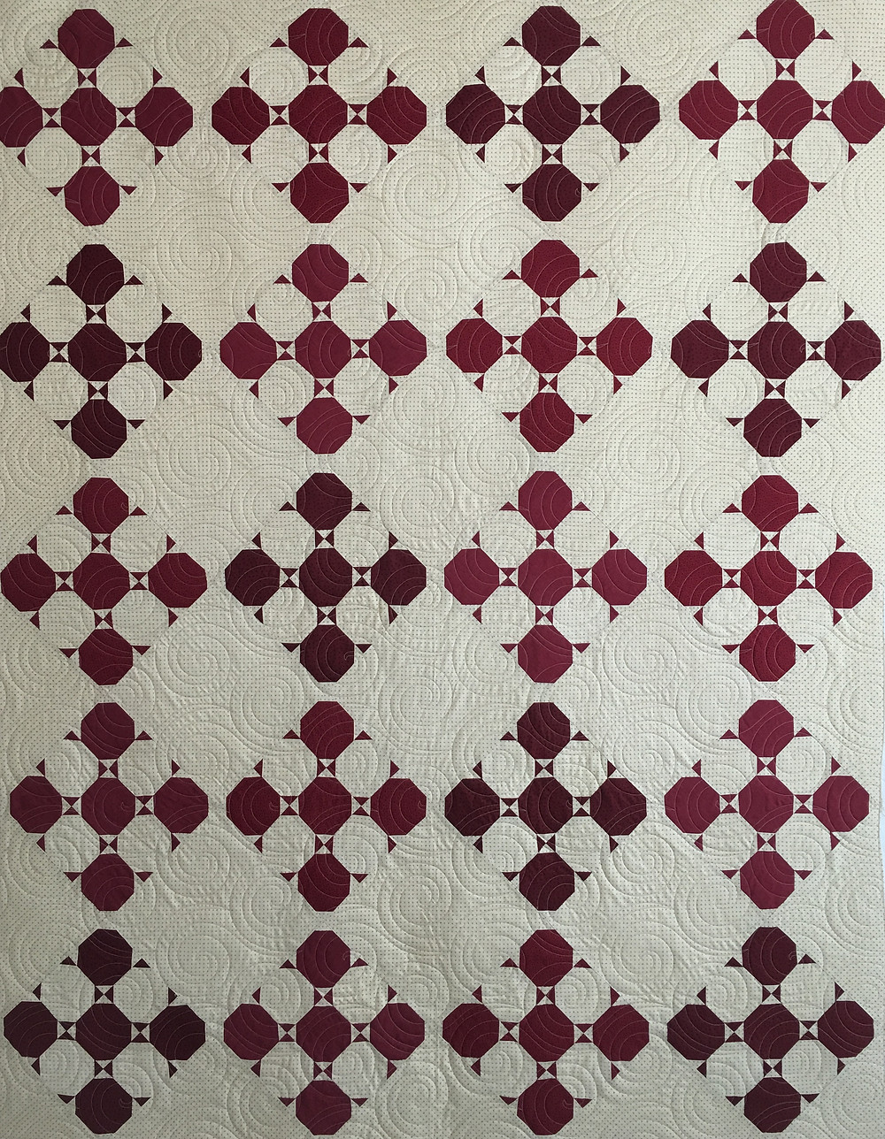Snow Bound Quilt by Joan Salesman