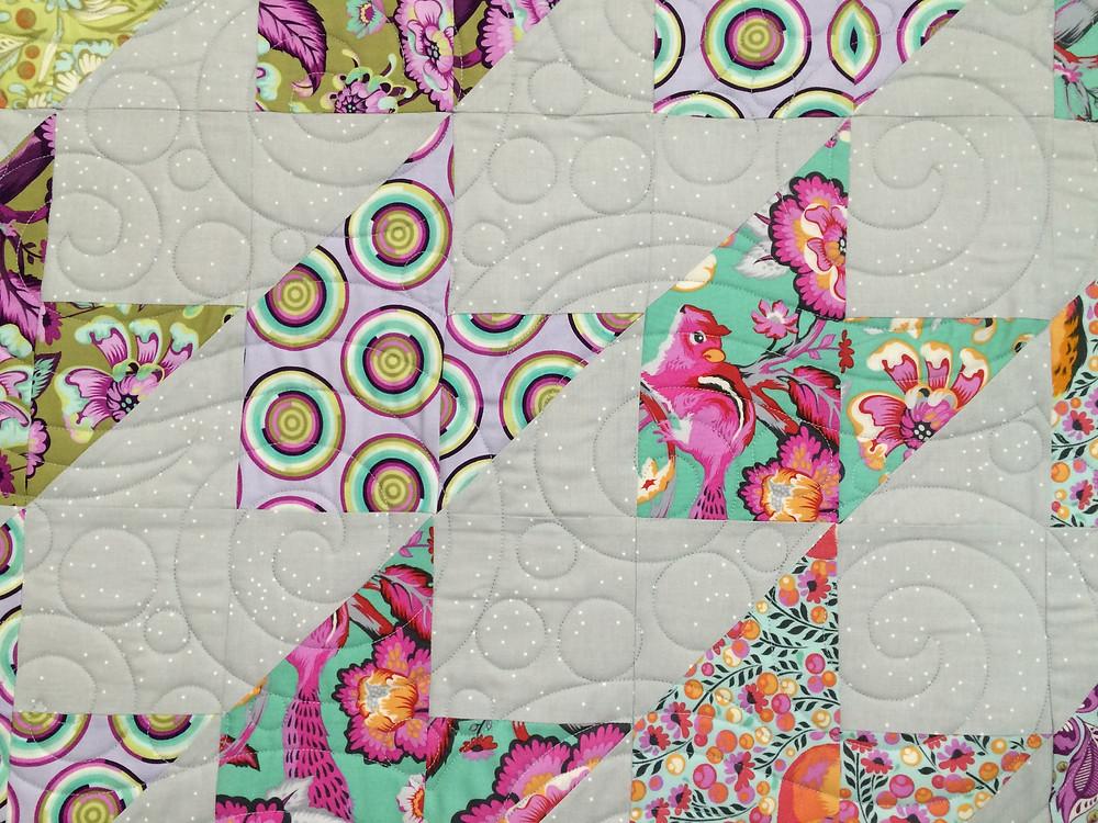 closeup of Codi Mangrum Wildwood Quilt