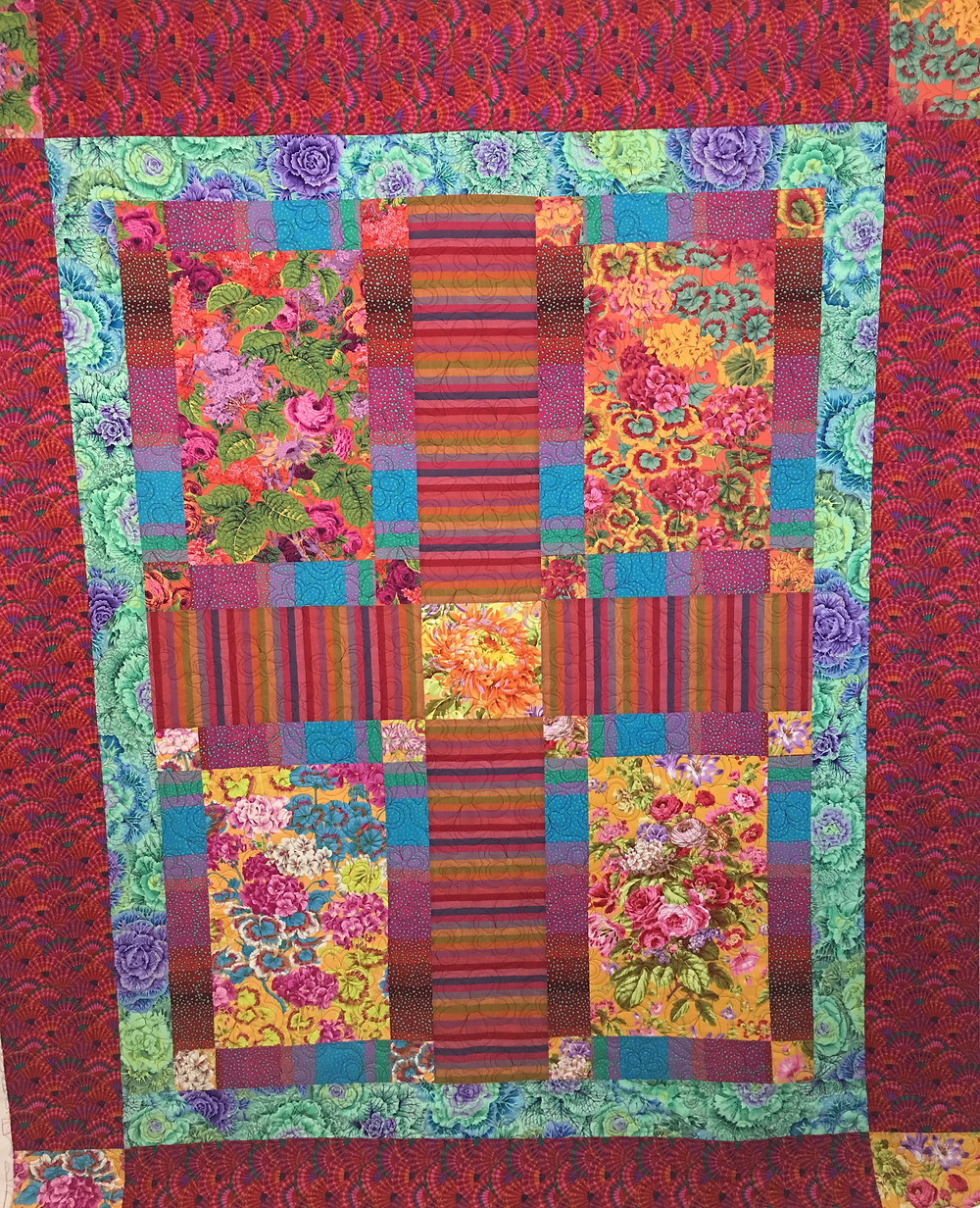 Very Bright Blocks by Penny Wheat