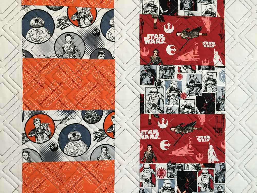 Star Wars panels with Luke Skywalker