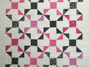 Nancy Thornton Pinwheels with a Twist Quilt