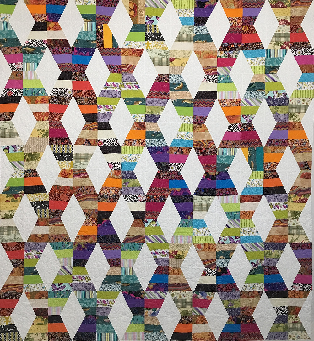 Hugs and Kisses Quilt by Judi Castro