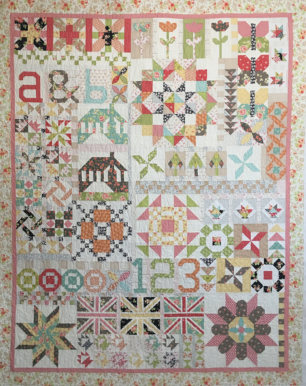 2016 Block of the Month Quilt by Deb Taylor