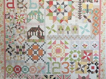 Deb Taylor 2016 Block of the Month Quilt