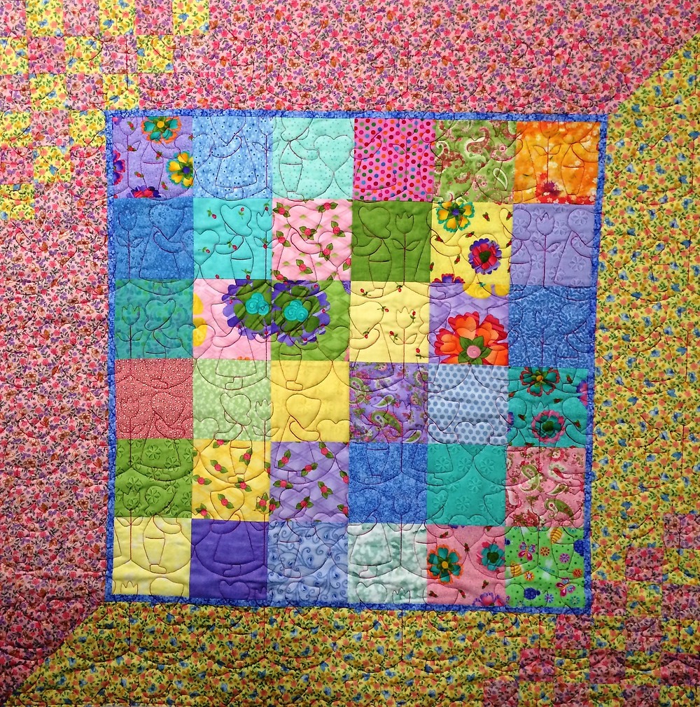 Baby Quilt by Sally Krebs