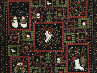 Leslie St.Onge Crazy for Christmas Quilt