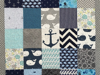 Sherry Harris Nautical Baby Quilt