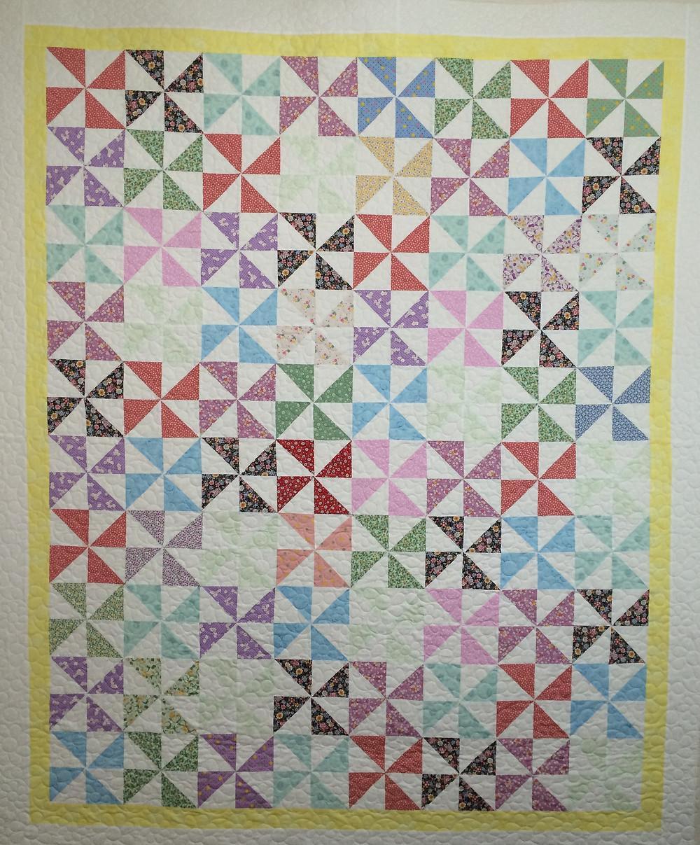 Joanne Pinwheels Quilt