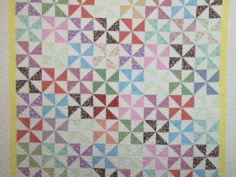 Joanne Kozlowsky Pinwheels Quilt