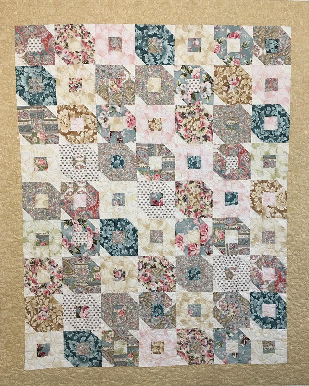 Flutterby Quilt by Nancy Kear-Johnson