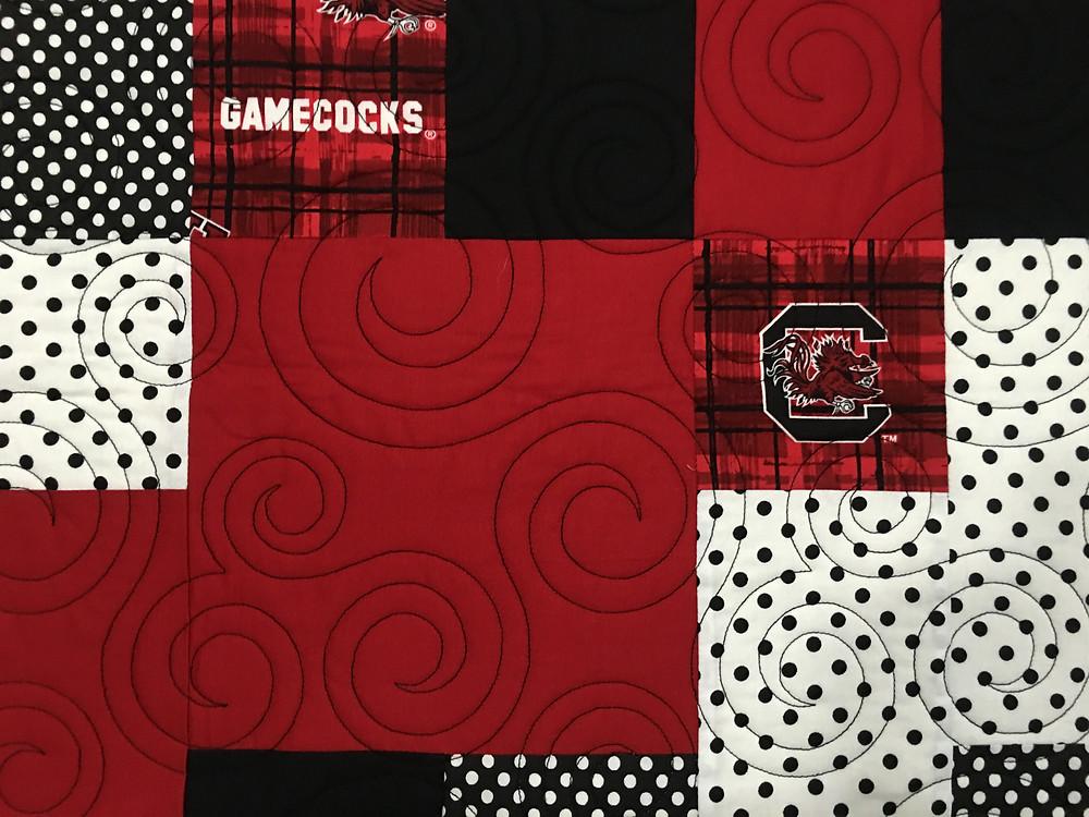 another closeup of Anna Carolina College Quilt