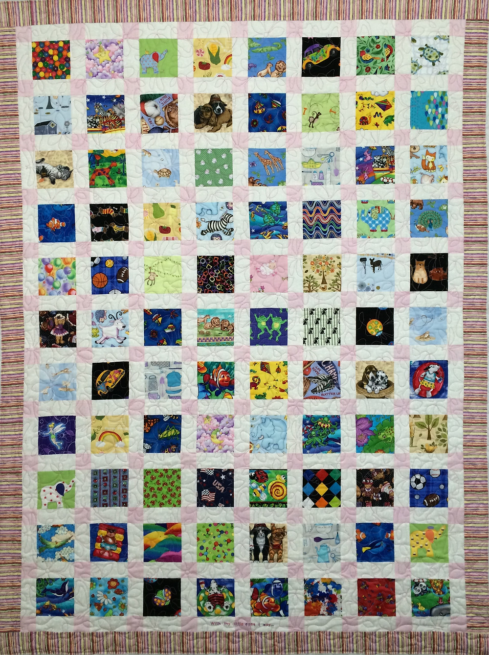 Peggy I Spy Quilt