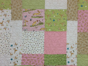 Sandra Rishell Baby Quilt