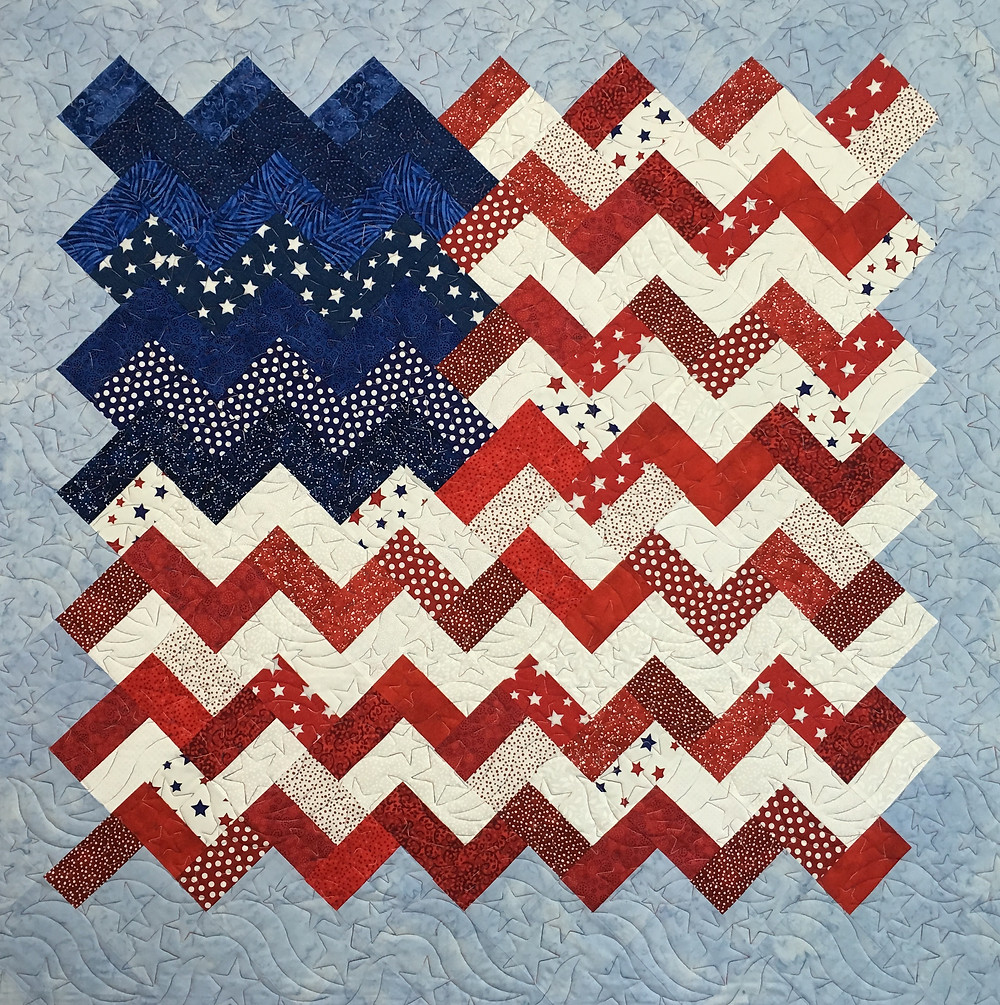 Leanne Old Glory Quilt