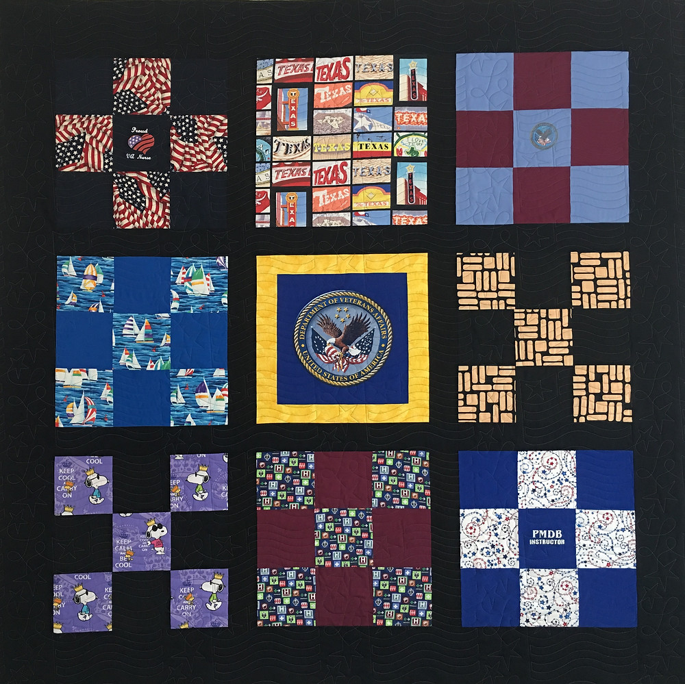 Retirement Quilt by David Hughes