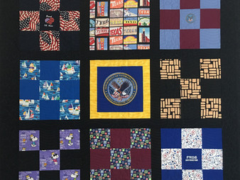 David Huges Retirement Quilt