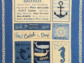 Beth Robertson Beach Theme Quilt