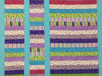 Andi Hays Jelly Road Reading Quilt for Granddaughter