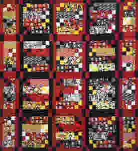 Betty Boop Quilt by Sandy Benson