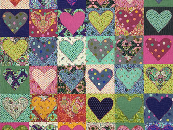 Elizabeth Cicchino  Tula Pinks from the Heart Quilt
