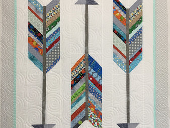Andi Hays Arrows Baby Quilt