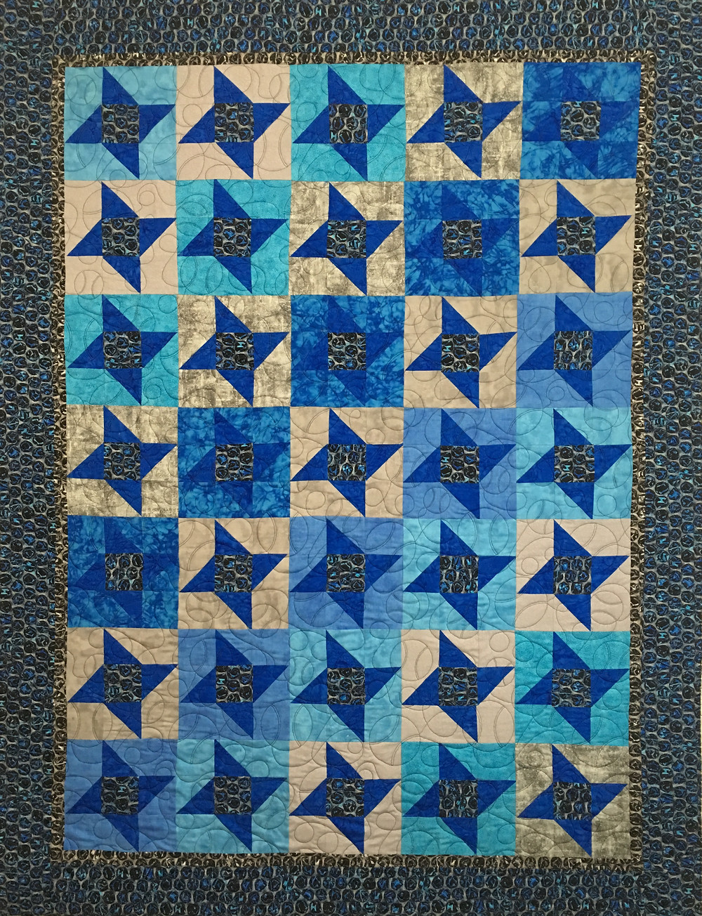 Quilt for Grandson by Delia Romero