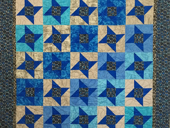 Delia Romero Quilt for Grandson