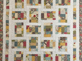Jill Seward Jelly Roll Quilt