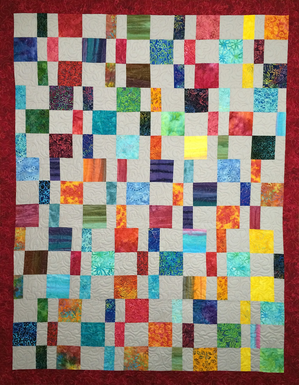 Liberty Colorful Blocks Quilt