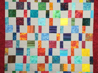 Liberty Shaffer Colorful Blocks Quilt