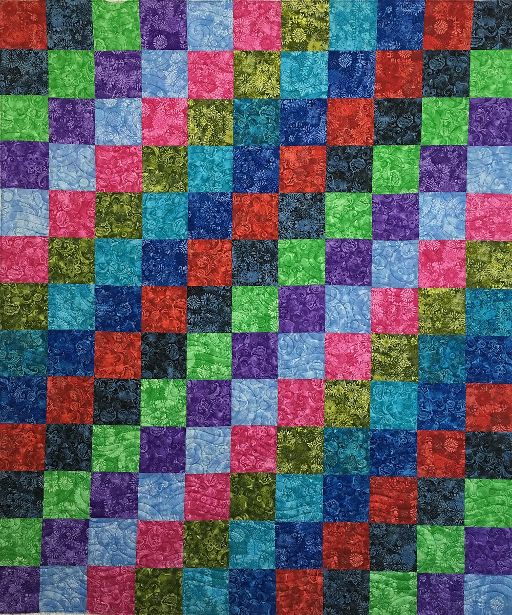 Multi-Color Quilt by Wendy Bell