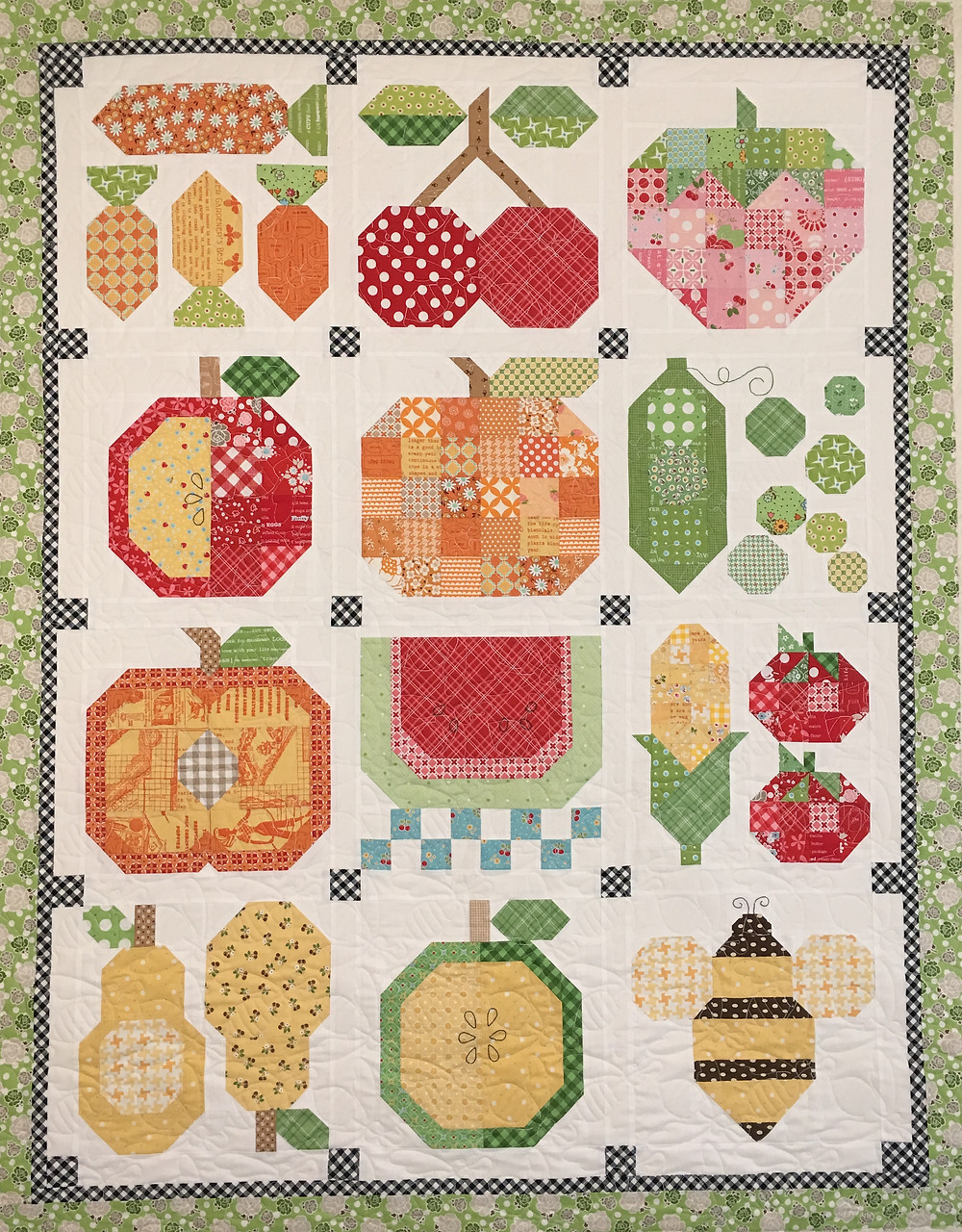 Vegetable Quilt by Deb Taylor