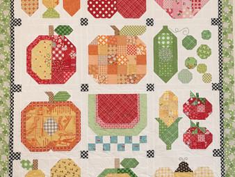 Deb Taylor Vegetable Quilt