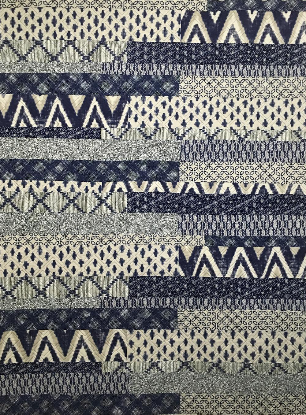 Beth Blue Indigo quilt