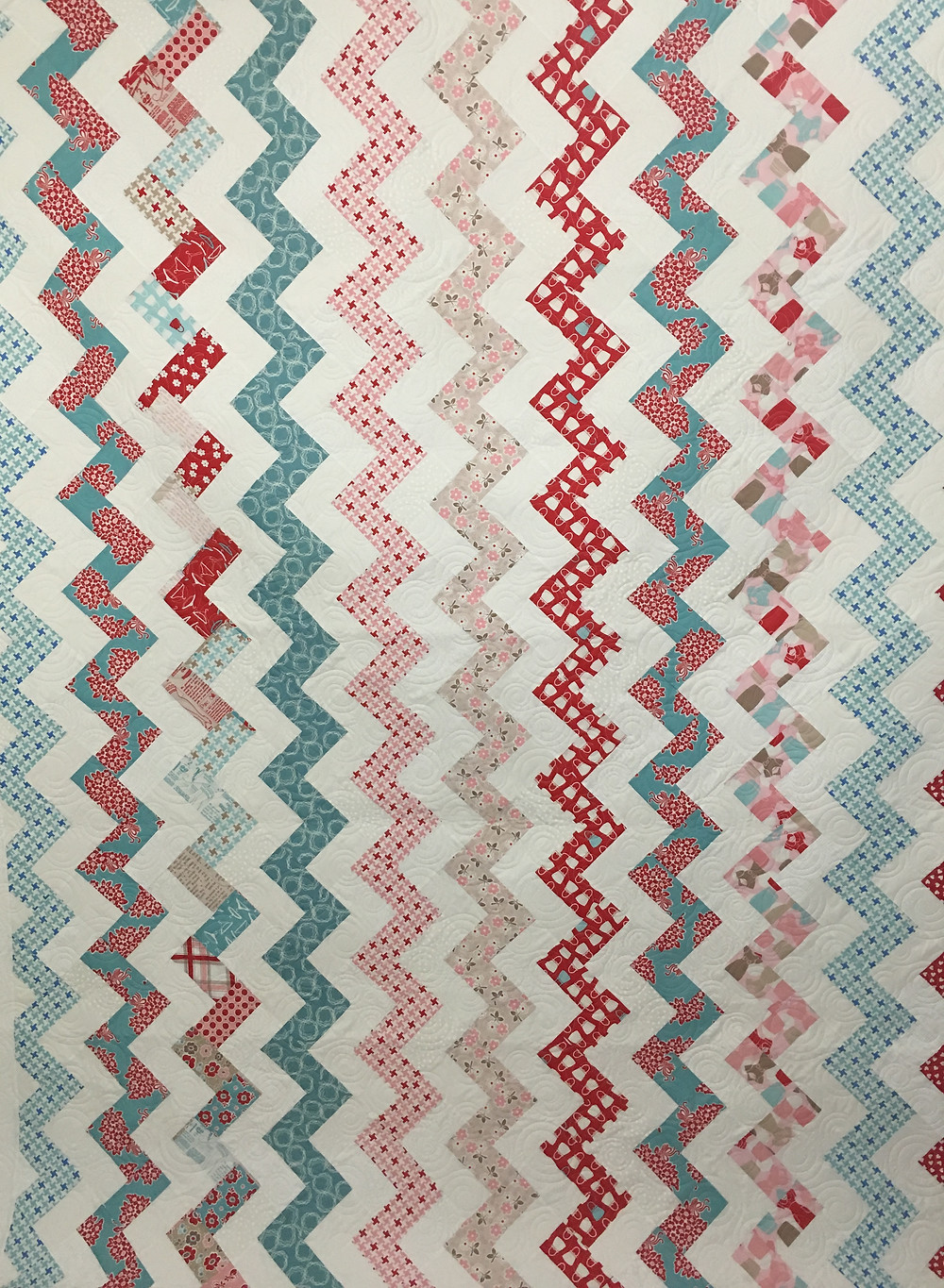 Zig Zag Quilt by Sandy Harris