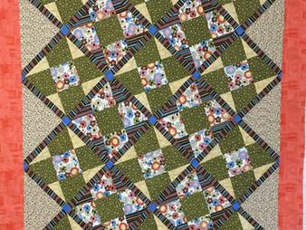 Cynthia Parra  Nine Patch Quilt