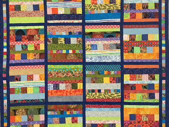 Laura Wetzel Blocks and Bars Quilt