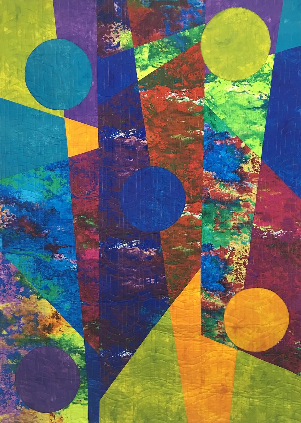 Beth Aha Moment Colorwash Quilt