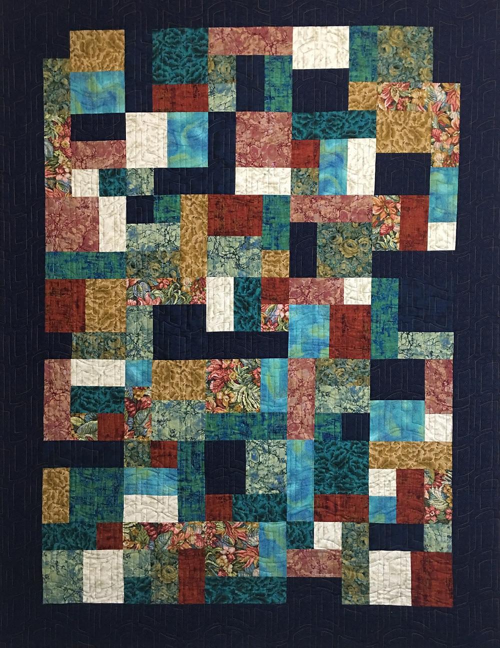 Yellow Brick Road Quilt by Michelle Bonnes