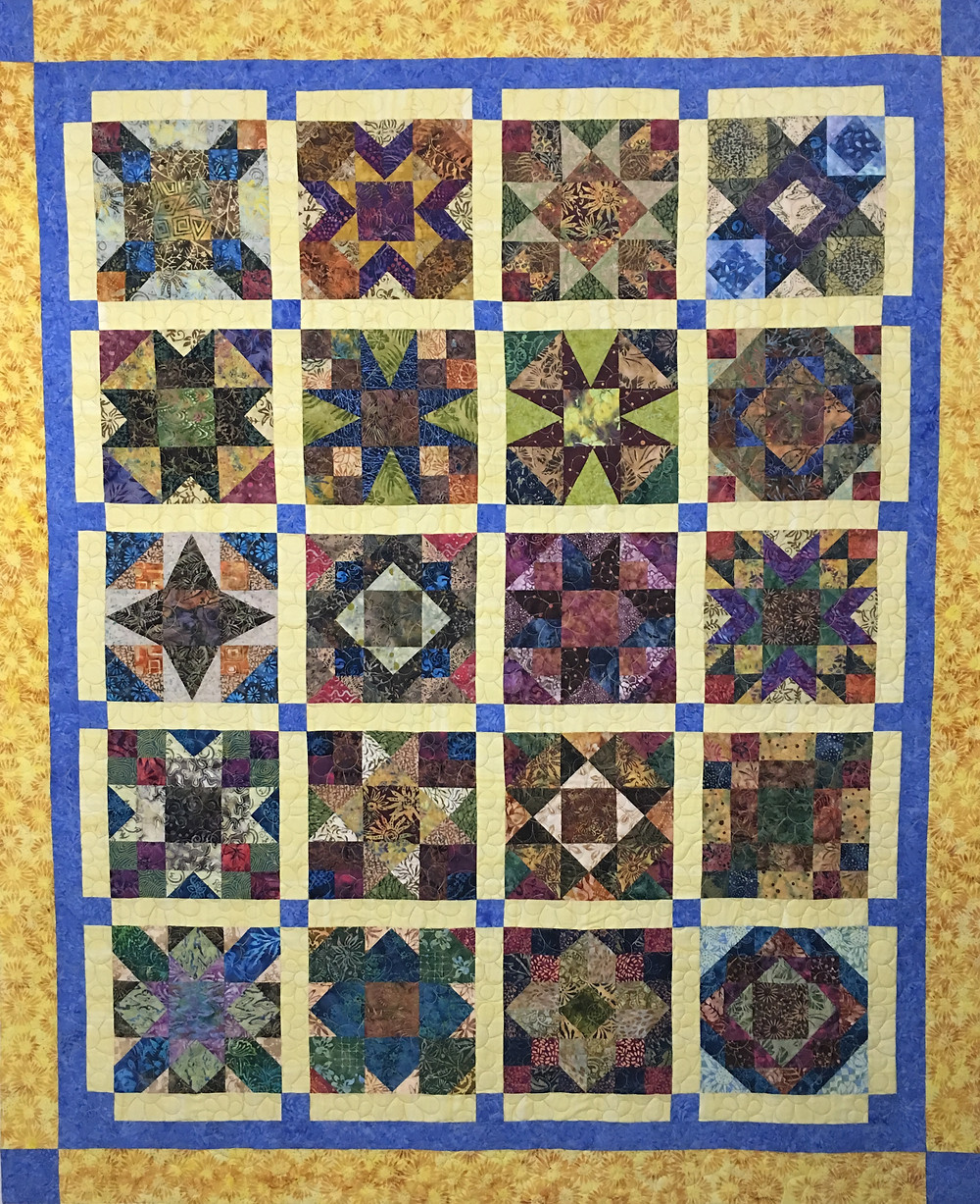 Quilt Club Sizzie Quilt by Jocelyn Robinson