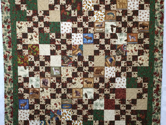 Leslie St.Onge Country Lodge Quilt