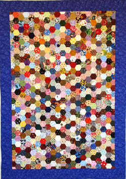 300 Hexagons Later Quilt