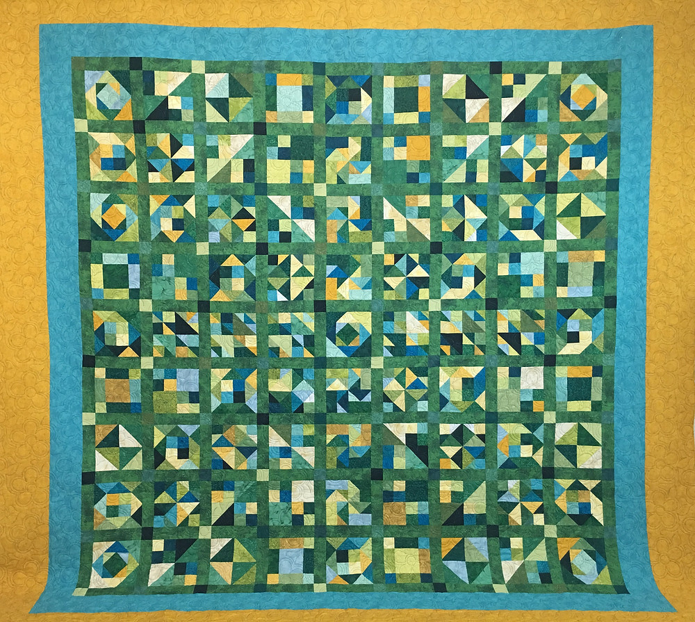 My Own Design Quilt by Susan Justice